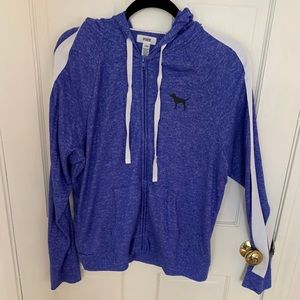 PINK size large hoody blue